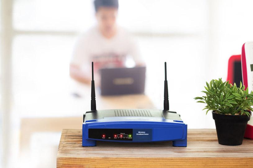Router jest często atakowany przez hakerów /123RF/PICSEL