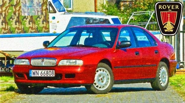 Rover 600 debiutował kilka miesięcy przed spokrewnioną piątą generacją Hondy Accord. /Motor