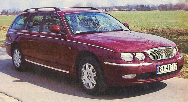 Rover 75 powstał w okresie, gdy ta brytyjska fabryka należała do BMW. Trudno się jednak dopatrzyć wpływów niemieckiego koncernu. /Motor