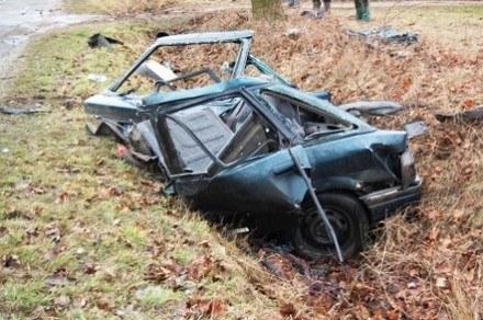 Rover rozpadł się na dwie części /Policja