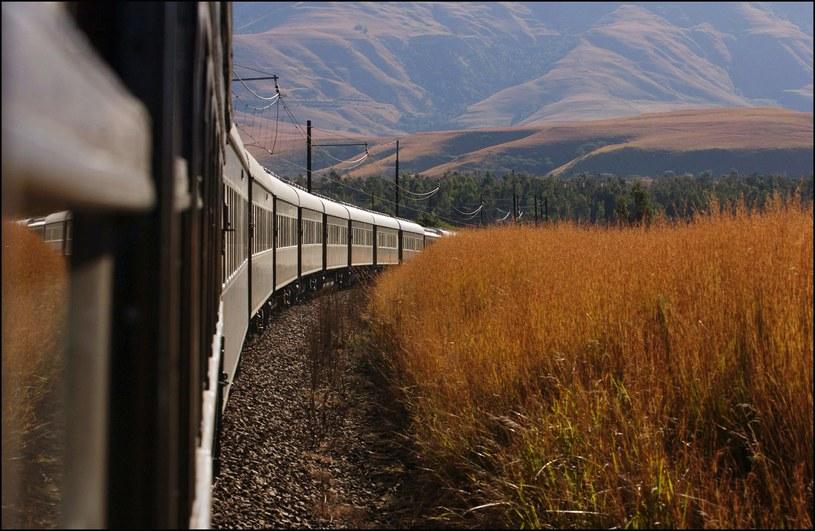 """Rovos Rail nazywany jest """"dumą Afryki"""" /David LEFRANC / Contributor /Getty Images"""