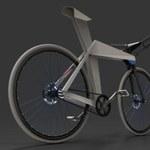 Rower jak origami