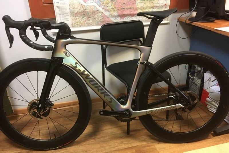 Rower ma wartość 12,5 tysiąca euro /Wielkopolska policja /Materiały prasowe