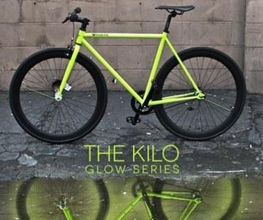 Rower świecący w ciemności