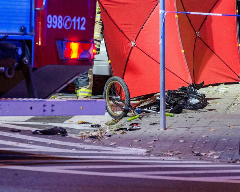 Rowerek, którym jechał czterolatek /News Lubuski /East News