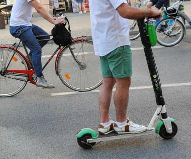 Rowery i hulajnogi coraz bardziej niebezpieczne
