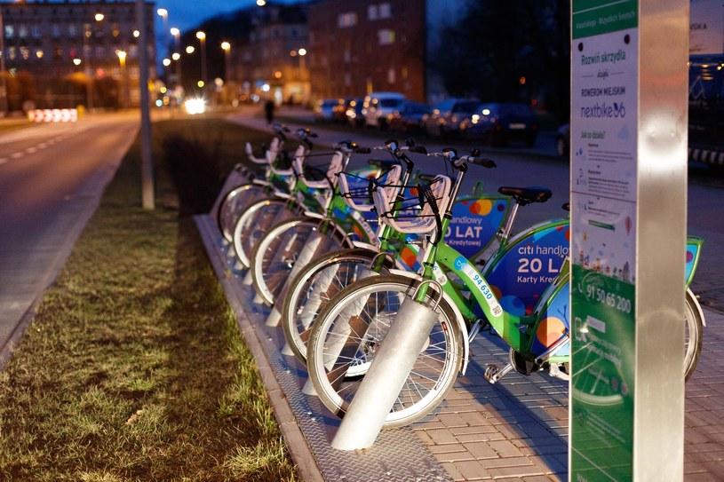 Rowery miejskie w Szczecinie /Robert Stachnik /Reporter