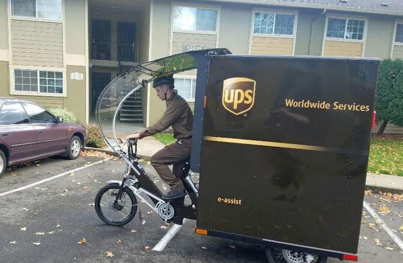 Rowery UPS są wspomagane elektrycznie /materiały prasowe