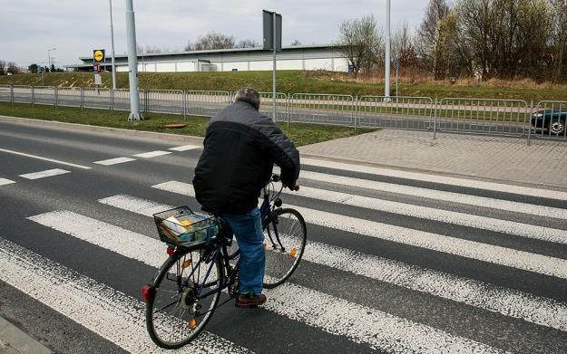 Rowerzyści popełniają wykroczenia bo nikt nie sprawdza, czy znają przepisy / Fot: Tomasz Rytych /Reporter