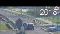 Rowerzystka wjechała w samochód