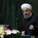 Rowhani ostro o sankcjach USA: Oburzające i idiotyczne