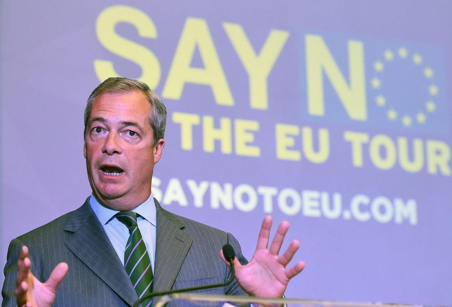 Równo dwa lata temu Wielka Brytania zdecydowała o wyjściu z Unii Europejskiej /PAP/EPA/ANDY RAIN /PAP/EPA