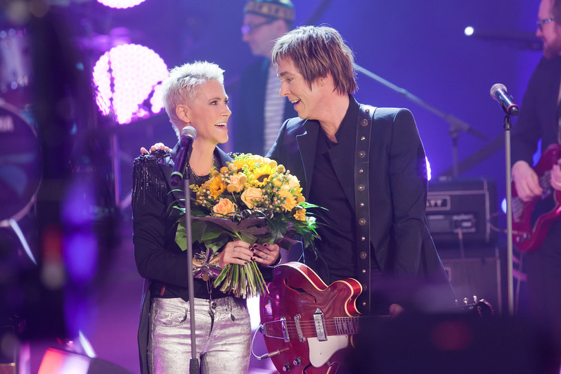 Roxette w 2011 r. - Marie Fredriksson i Per Gessle /Marco Prosch /Getty Images