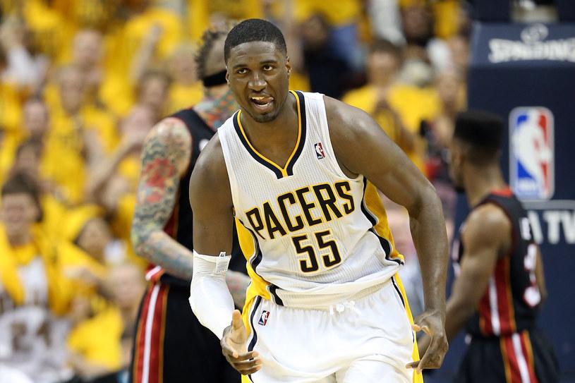 Roy Hibbert z Indiana Pacers /AFP