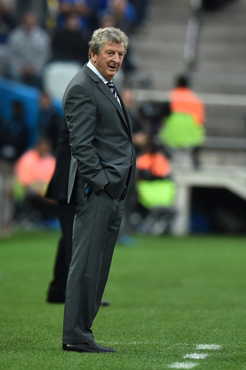 Roy Hodgson nie zrezygnuje z pracy z kadrą /AFP