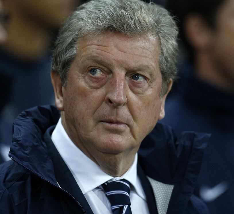 Roy Hodgson podczas meczu Anglia - Polska /AFP