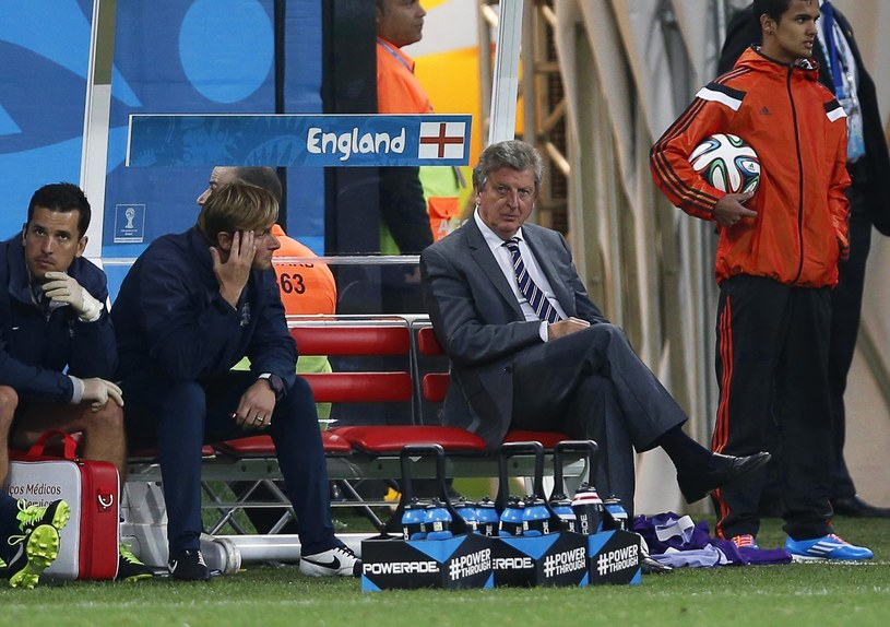 Roy Hodgson podczas meczu Anglia - Urugwaj /PAP/EPA