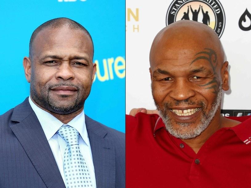 Roy Jones jr i Mike Tyson /AFP