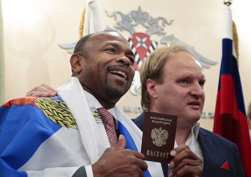 Roy Jones Jr otrzymał rosyjski paszport /PAP/EPA
