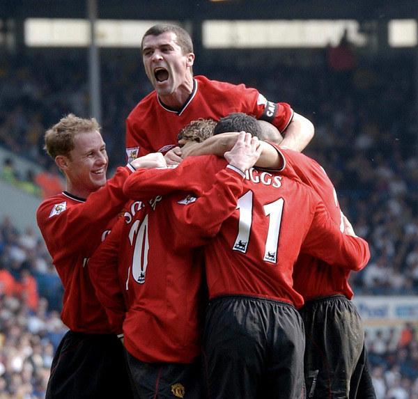 Roy Keane zawsze na górze /AFP