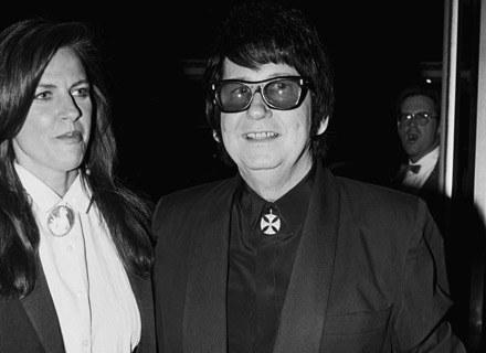 Roy Orbison z żoną Barbarą w 1987 roku - fot. George Rose /Getty Images/Flash Press Media