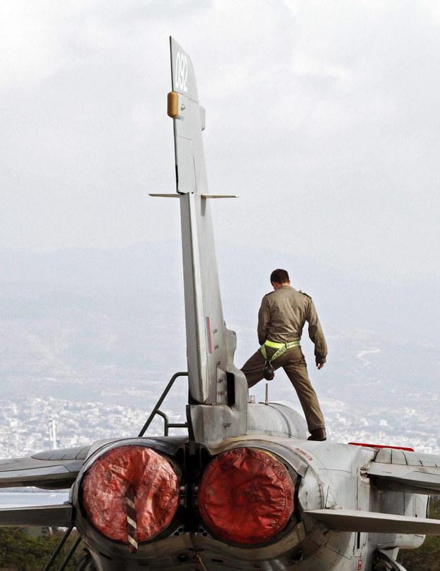 Royal Air Force na Cyprze /KATIA CHRISTODOULOU (PAP/EPA) /PAP/EPA