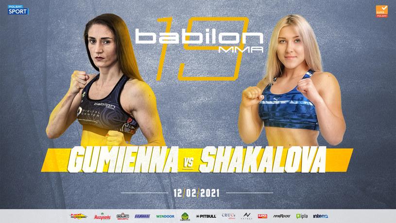 Róża Gumienna vs Ekaterina Shakalova /mat.prasowe /materiały prasowe