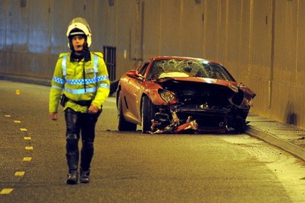 Rozbite ferrari 599 GTB Ronaldo /AFP