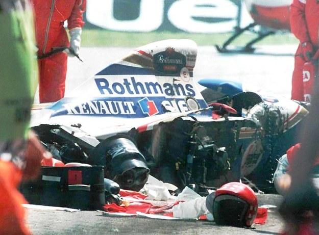 Rozbity bolid, w którym zginął Ayrton Senna /CAF-EPA /PAP