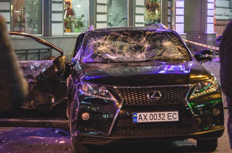Rozbity Lexus RX /