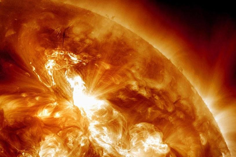 Rozbłyski słoneczne mogą być naprawdę niebezpieczne dla Ziemi /NASA