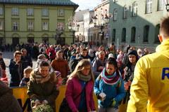Rozdajemy choinki w Krakowie