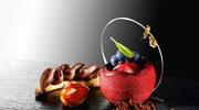 Rożek makaronikowy z kremem czekoladowym