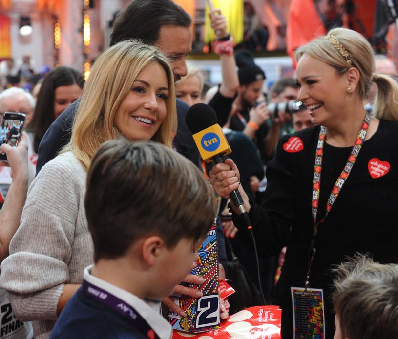 Rozenek kwestowała z synami i mężem /Piotr Andrzejczak /MWMedia