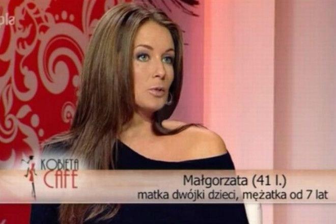 """Rozenek w programie """"Kobieta Cafe"""" w 2010 roku. (Screen: Polsat Cafe) /materiał zewnętrzny"""