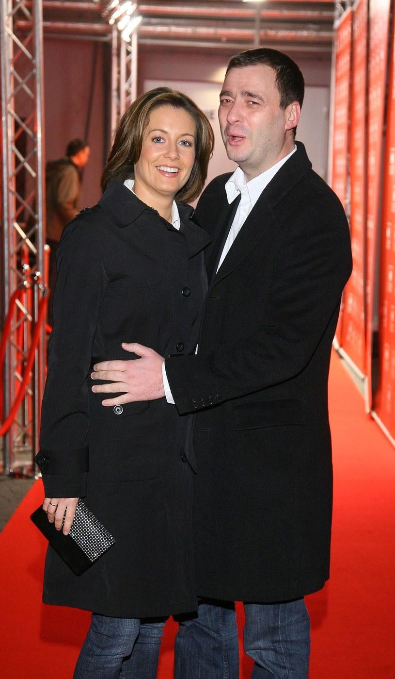 Rozenek z byłym mężem w 2008 roku! /- /East News