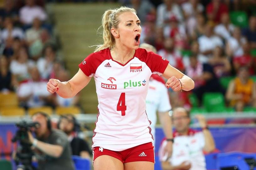 Rozgrywająca Marlena Pleśnierowicz występowała w ubiegłorocznym cyklu Ligi Narodów /Piotr Matusewicz /East News