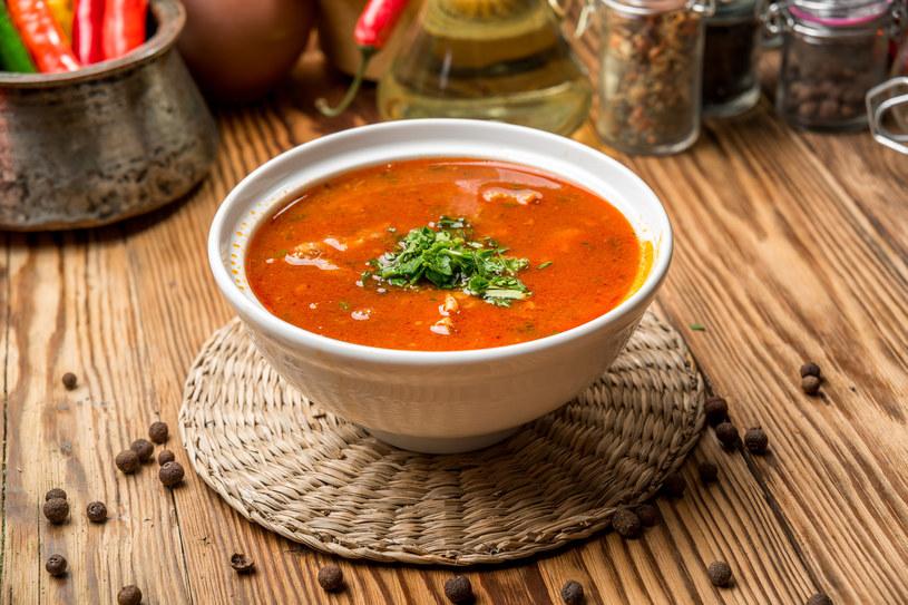Rozgrzewająca zupa /materiały prasowe