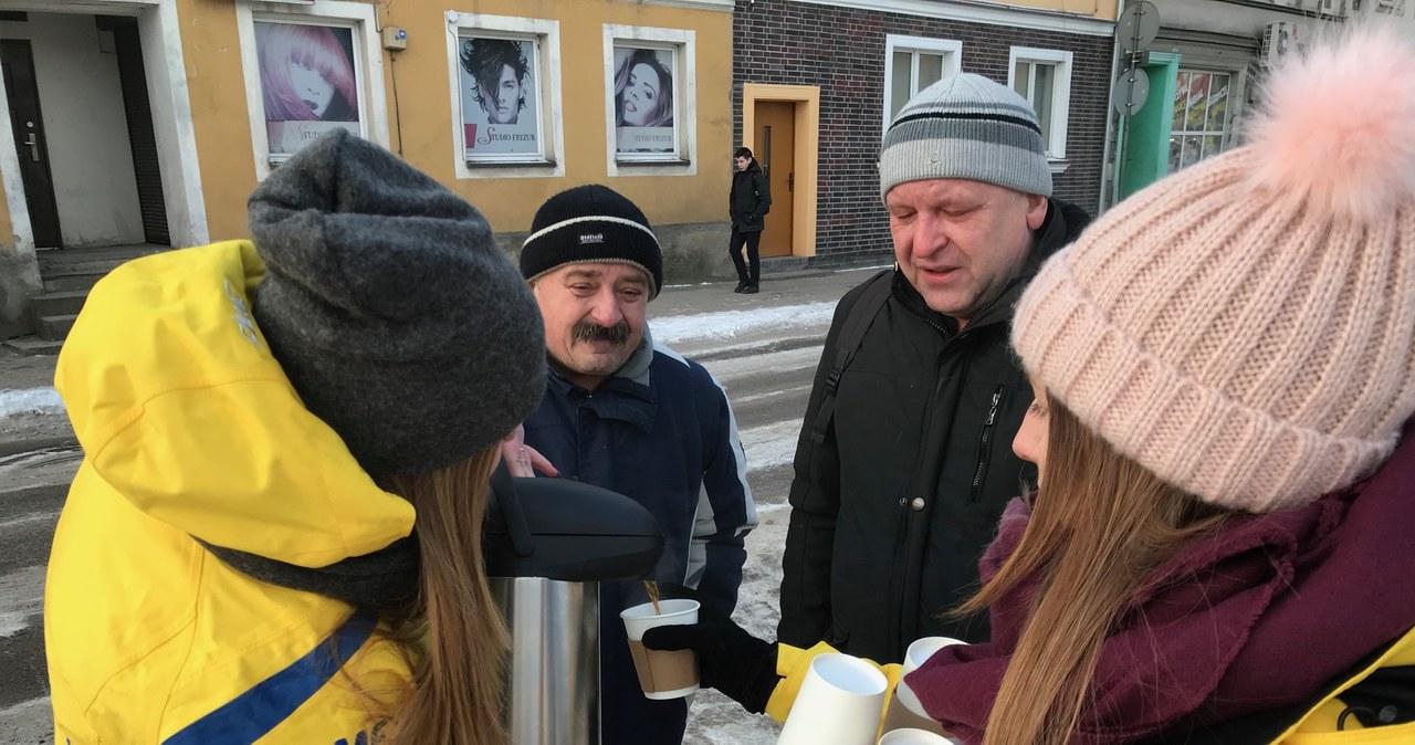 Rozgrzewamy mieszkańców Gołdapi kawą!