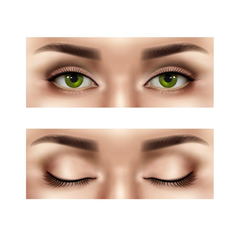 Rozjaśnianie oczu jest możliwe /123RF/PICSEL