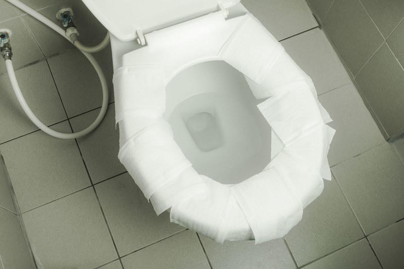 Rozkładanie papieru toaletowego na desce nie jest najlepszym pomysłem /123RF/PICSEL