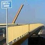 Rozkradany most na Wiśle