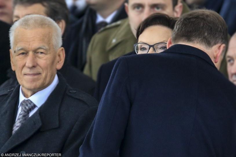 Rozmowa Andrzeja Dudy z Ewą Kopacz, 11 listopada 2015 r. /Andrzej Iwańczuk/Reporter /East News