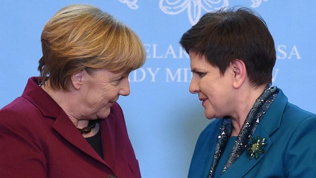 Rozmowa Beaty Szydło i Angeli Merkel w Warszawie: O praworządności, Nord Stream2 i Rosji