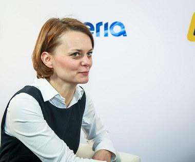 Rozmowa na żywo z Jadwigą Emilewicz, podsekretarz stanu w Ministerstwie Rozwoju
