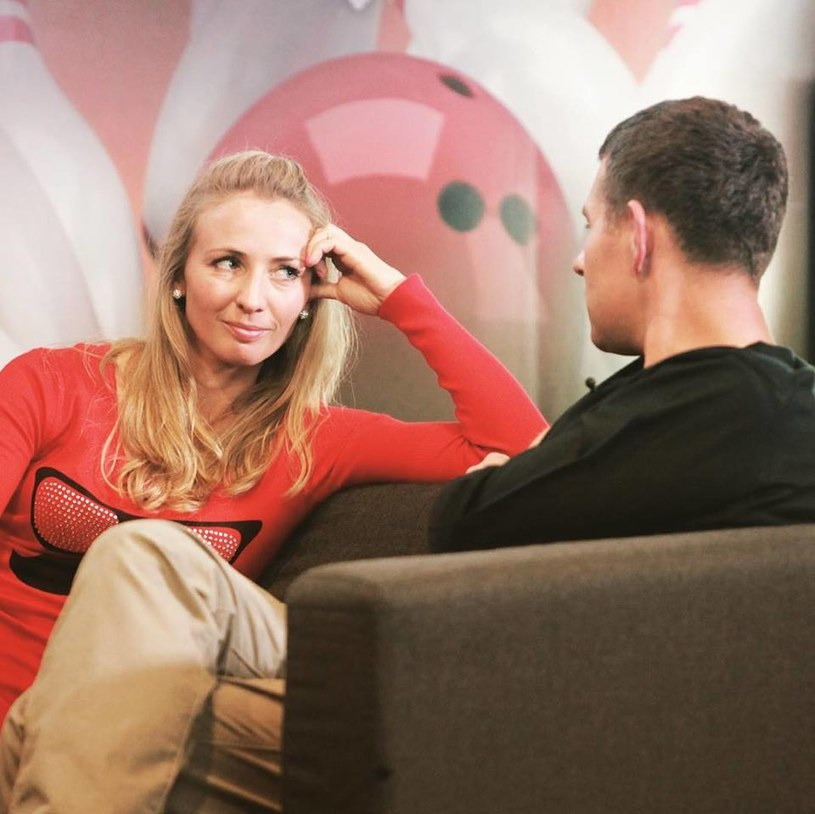 """""""Rozmowa nam się klei"""" - powiedziała Monika po randce z Robertem /TVP"""