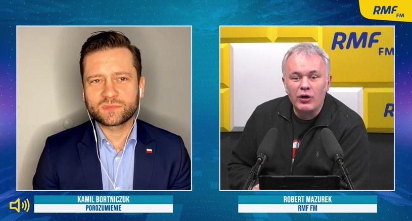 Rozmowa Roberta Mazurka z Kamilem Bortniczukiem /RMF FM