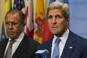 Rozmowa telefoniczna Kerry'ego i Ławrowa. Tematem konflikt w Syrii