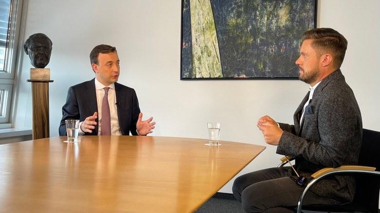 Rozmowa Tomasza Lejmana z Paulem Ziemiakiem, sekretarzem generalnym niemieckiej partii CDU /Polsat News /Polsat News