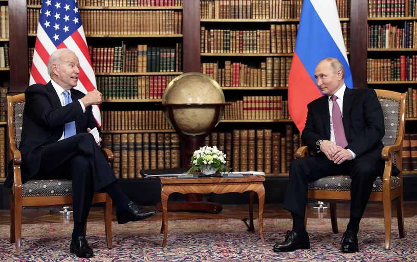 Rozmowy Joe Biden - Władimir Putin /PAP/EPA/MIKHAIL METZEL/SPUTNIK/KREMLIN POOL / POOL /PAP